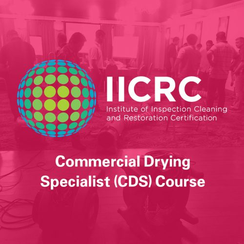 Commercial Drying Specialist (CDS) Course