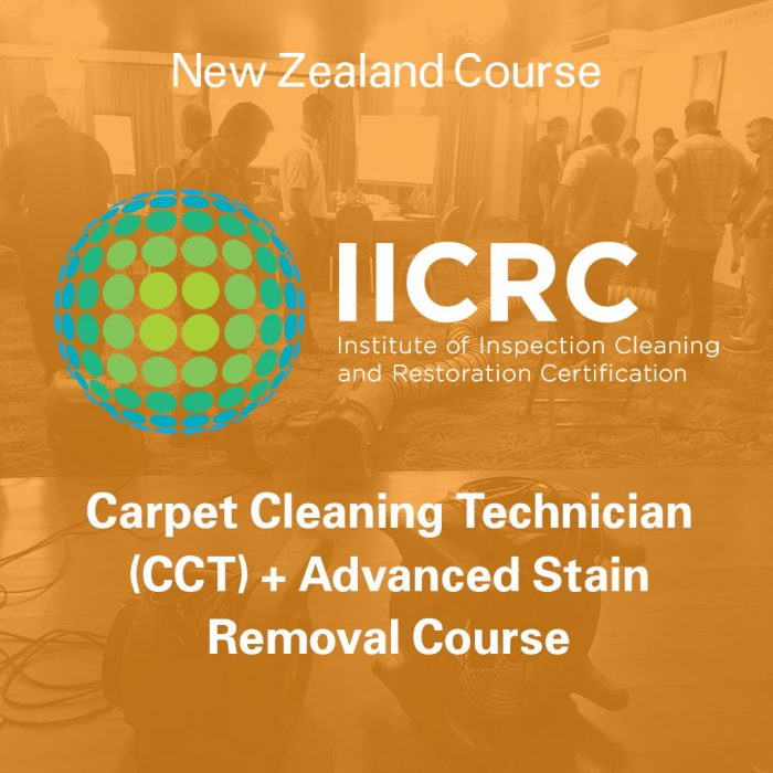 IICRC Carpet Cleaning Technician + Advanced Stain Removal Course - New Zealand Course