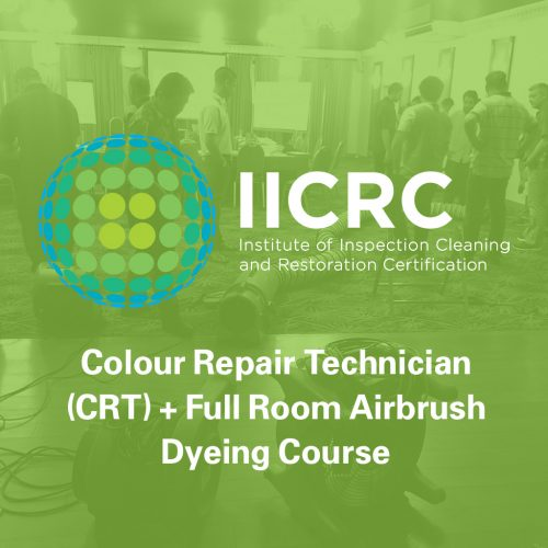 IICRC Colour Repair Technician + Full Room Airbrush Dyeing Course