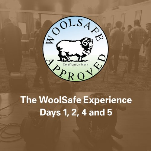 The WoolSafe Experience, Days 1, 2, 4 and 5