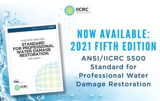 ANSI/IICRC S500 2021 Standard Webinar